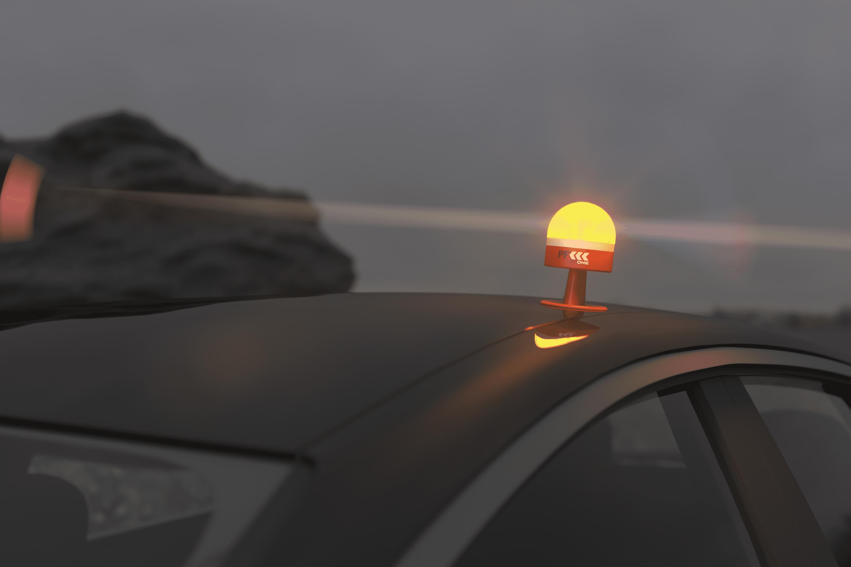 luces de emergencia coche normativa